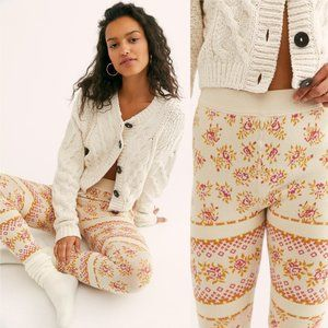 NEW Free People Natural Ski Bum Leggings XS